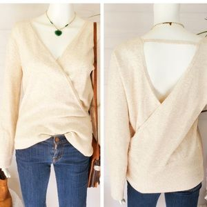 Nordstrom Hinge Wrap Style Sweater